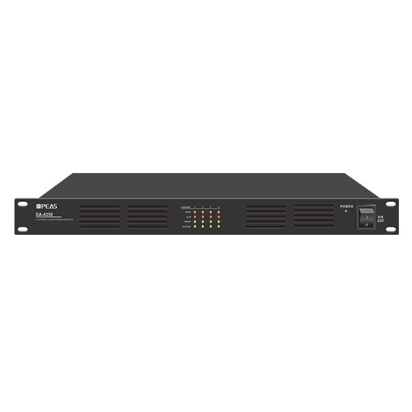 DA-4350 4 Channels 350W Digital Class-D Amplifier