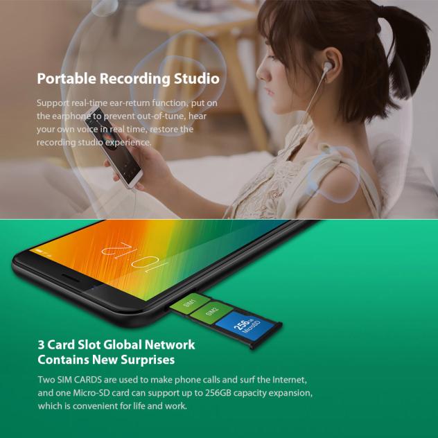 LENOVO K9 NOTE 3GB 32GB MOBILE PHONE570