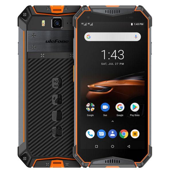 Ulefone Armor 3W IP68 Waterproof Rugged Cellphone Cellulari