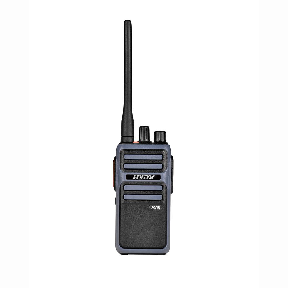 HYDX-A518 Fashionable Rugged Design Portable walkie talkie